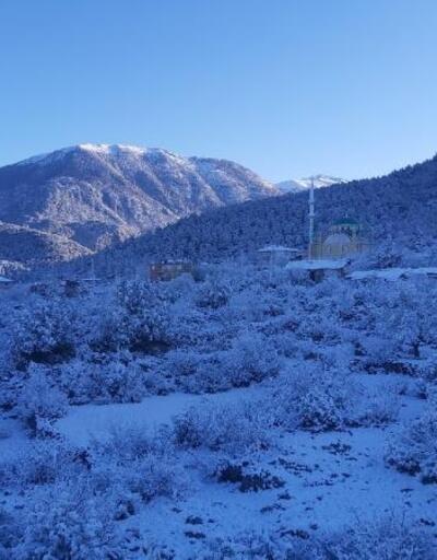Toroslara mart karı yağdı