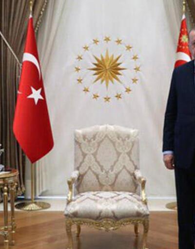 Cumhurbaşkanı Erdoğan, Muhsin Yazıcıoğlu'nun oğlu Fatih Furkan Yazıcıoğlu'nu kabul etti