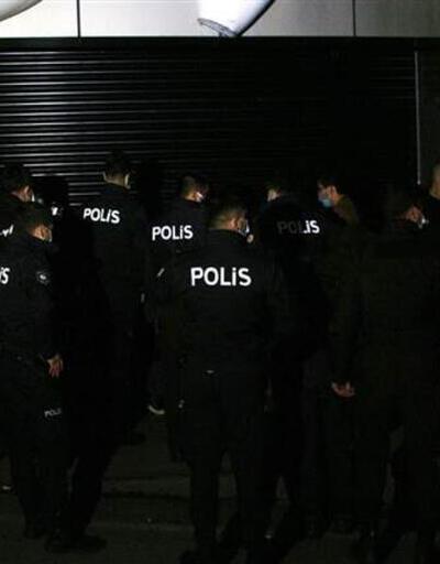 Kepenk arkasında parti yaptılar! Yabancı uyruklu çok sayıda kişiye ceza yağdı