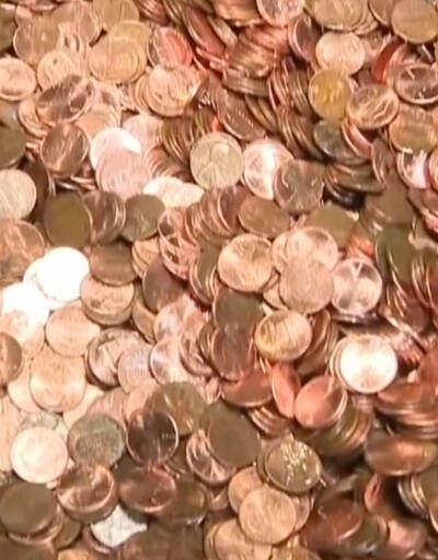 Eski işvereni borcunu yağlı madeni paralar ile ödedi