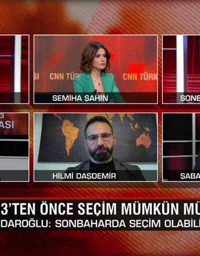 2023'ten önce seçim mümkün mü? Millet İttifakı'nın cumhurbaşkanı adayı kim olur? CNN TÜRK Masası'nda konuşuldu