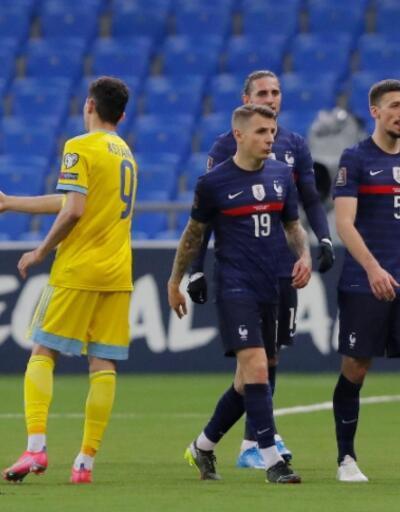 Kazakistan 0-2 Fransa MAÇ ÖZETİ