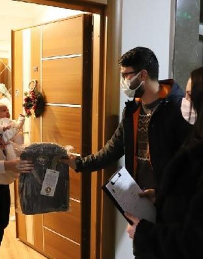 Kartallı bebeklerin hediyeleri dağıtılmaya başlandı
