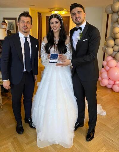 Ozan Tufan ile Rojin Haspolat evlendi