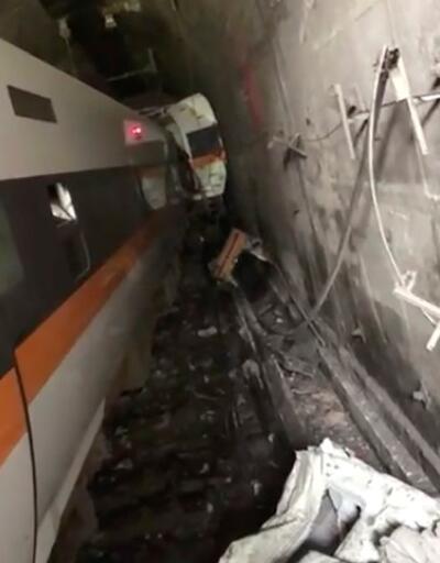 Son dakika... Tayvan'da tren raydan çıktı: En az 36 ölü
