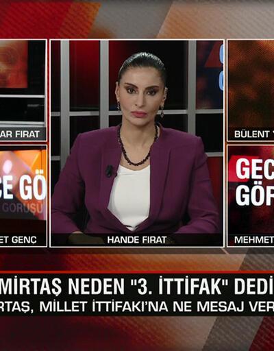 """Demirtaş neden """"3. ittifak"""" dedi, planı ne? HDP iddianamesi neden iade edildi? Çatı aday İmamoğlu mu, Yavaş mı? Gece Görüşü'nde tartışıldı"""