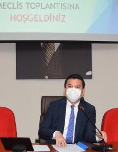 Kumluca Belediyesi Meclis toplantısı yapıldı