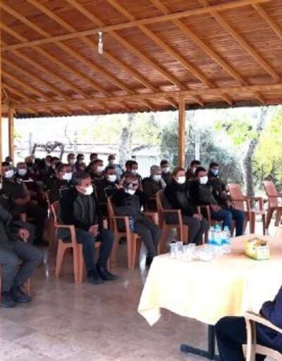 Orman personeline yangın semineri