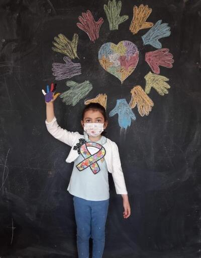 Anaokulu öğrencileri, otizme dikkat çekti