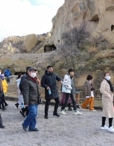 Kapadokya'ya mart ayında 101 bin 313 turist ziyareti