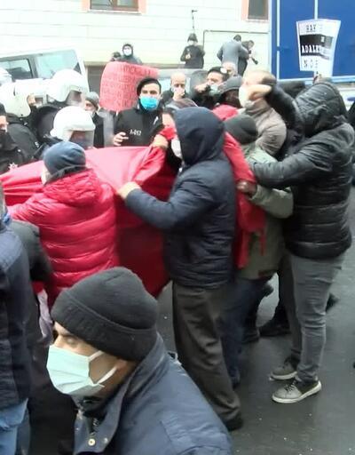 Yeşilpınar'da polis müdahalesi