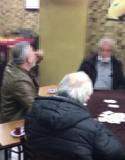 Kahvehanede oyun oynayan 16 kişiye ceza