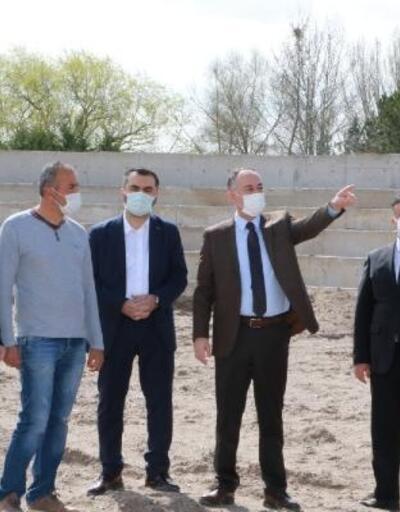 Kırıkkale'de Millet Bahçesi inşaatı sürüyor