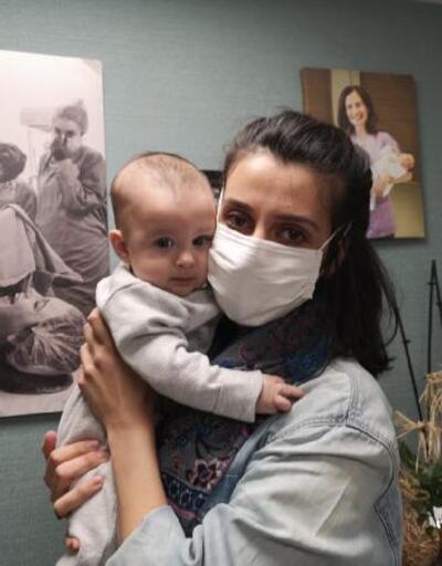Doğuma günler kala koronavirüse yakalandı, bebeği negatif çıktı