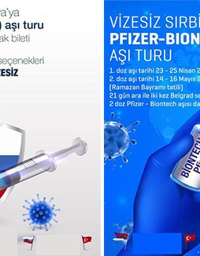 Bu da Kovid-19 Aşı Turu! Fiyatlar 10 bin liraya kadar çıkıyor