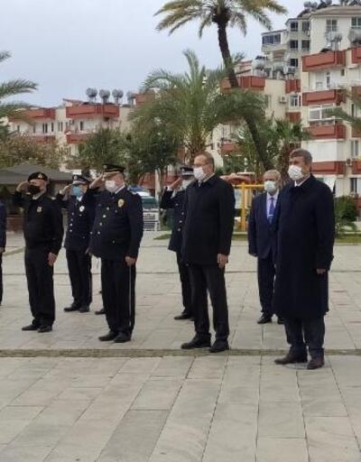 Anamur'ta polis teşkilatının kuruluş yıl dönümü kutlandı