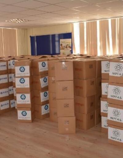 Gülnar'da ihtiyaç sahiplerine Ramazan kolisi dağıtıldı
