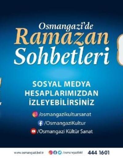 Osmangazi Belediyesi'nden çevrimiçi Ramazan etkinlikleri