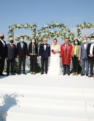 Nilüfer Belediye Başkanı Turgay Erdem ve Zeynep Terzioğlu evlendi