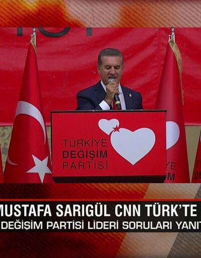 TDP Genel Başkanı Mustafa Sarıgül, Ne Oluyor?'da merak edilen soruları yanıtladı