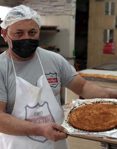Kayseri'de Ramazan ayına özel pişiyor