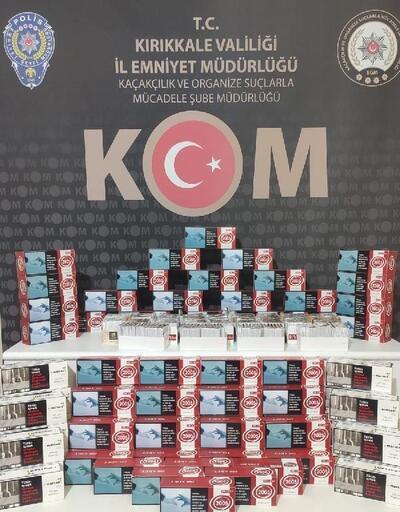 Kırıkkale'de kaçak tütün operasyonu