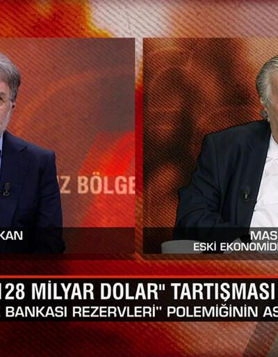 """""""Merkez Bankası rezervleri"""" polemiğinin aslı ne? Eski Bakan Masum Türker, Tarafsız Bölge'de anlattı"""