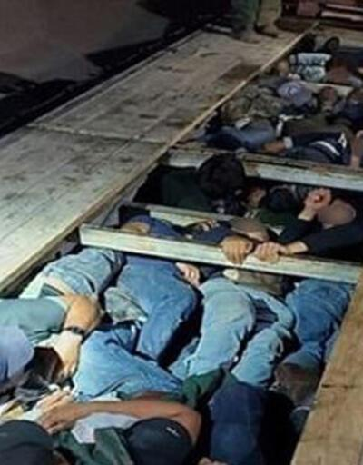 ABD-Meksika sınırında dram: Göçmenler TIR'ın gizli bölmesinden çıktı
