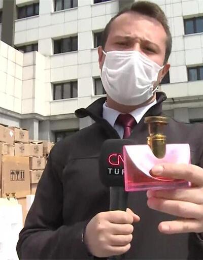 İstanbul'da binlerce şişe sahte parfüm ele geçirildi
