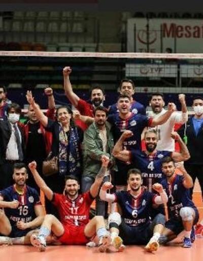 Hatay Büyükşehir Belediyespor'un zirve mücadelesi sürüyor