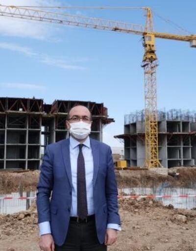 Sandıklı'da 4'üncü etap TOKİ konutları yapımı başladı