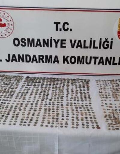 Osmaniye'de Roma ve Bizans dönemine ait tarihi eserler ele geçirildi