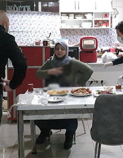 İftar yemeğinde eski eşini bıçakladı!
