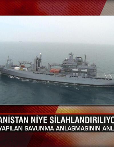Yunanistan niye silahlandırılıyor? Karadeniz'i kimler nasıl savaşa sürüklüyor? Ne Oluyor?'da konuşuldu