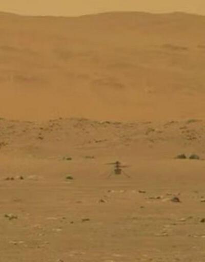 Son dakika... NASA'nın Mars'a gönderdiği helikopter başarılı bir uçuş gerçekleştirdi