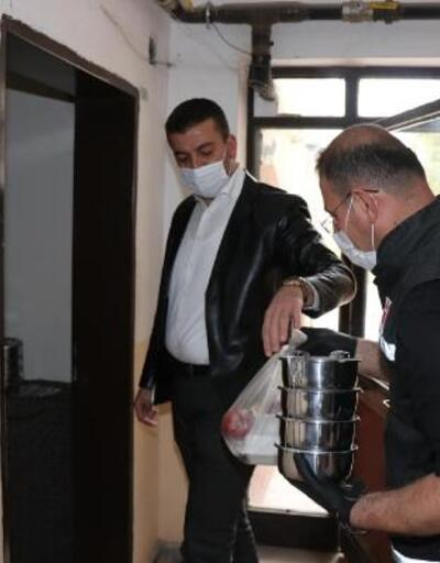 Ürgüp'te iftar yemekleri kapıya teslim ediliyor