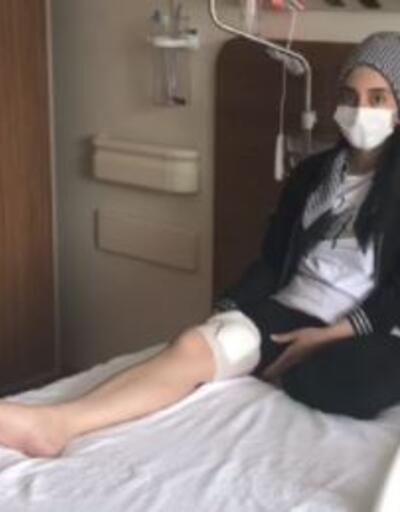Engelli oğlu için hastanedeydi
