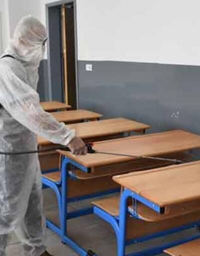 Vaka görülen okulda eğitime ara verildi