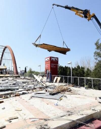 Rauf Denktaş Köprüsü ve Balık Pazarı yenileniyor