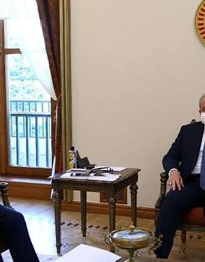 TBMM Başkanı Şentop, AYM Başkanı Arslan'ı kabul etti