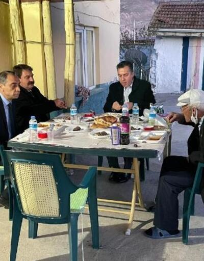 Şehit babasıyla iftar buluşması