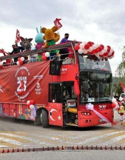 Başakşehir'de 23 Nisan Ulusal Egemenlik ve Çocuk Bayramı kutlamaları gerçekleşti
