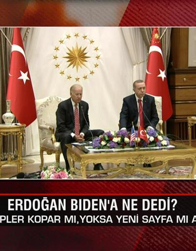 Erdoğan-Biden neler konuştu, ilişkilere nasıl yansır? F-35 yerine Milli Muharip Uçak mı? Akıl Çemberi'nde değerlendirildi