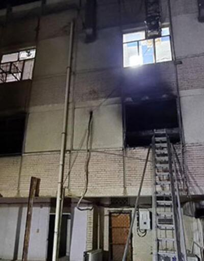 Son dakika... Bağdat'ta hastane yangını: Çok sayıda ölü var