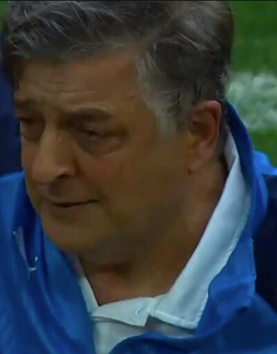 Yılmaz Vural'ı ağlatan maç