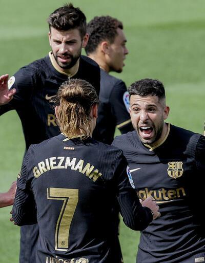Barcelona Real Madrid'i yakaladı