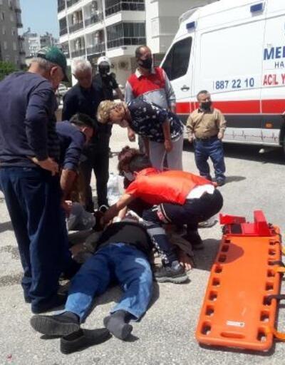 Motosikletler kafa kafaya çarpıştı