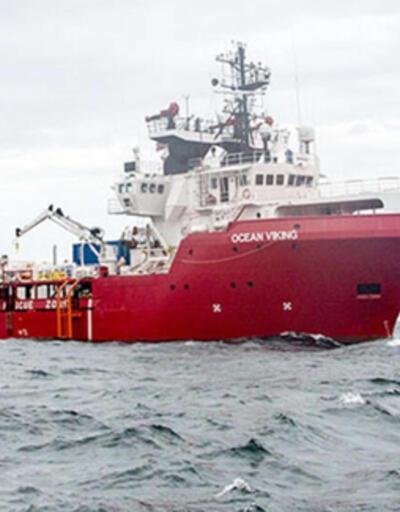 Ocean Viking gemisi Akdeniz'de 200'den fazla düzensiz göçmeni kurtardı