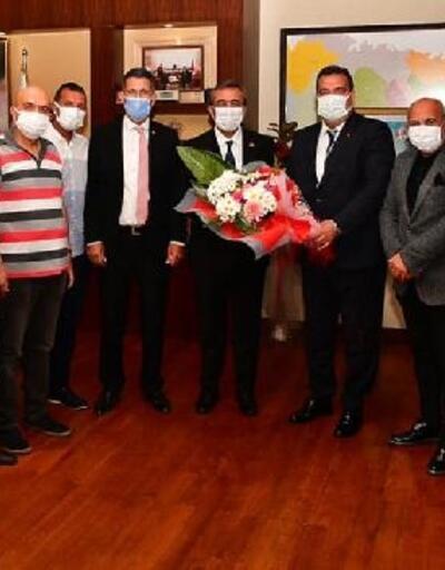 ASKF yönetiminden Başkan Çetin'e ziyaret