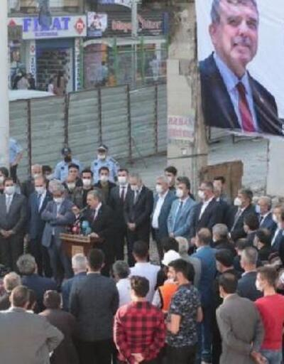 Şanlıurfa'da yıkım töreni yapıldı